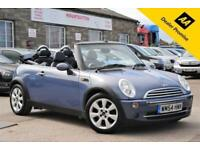 2004 (54) MINI COOPER CONVERTIBLE 1.6 BLUE PURPLE 2 DOOR