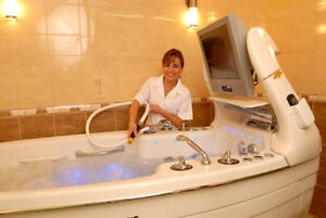 Fully equipt hydro therapy practice for rent