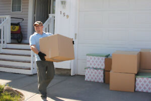 From 35/hr - MOVERS - With OR Without a Truck - 403-402-7992