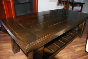 Hand Crafted Rustic Coffee Table