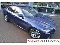 2016 Alfa Romeo Giulia SUPER ** NEW GIULIA HIGH SPEC ** Diesel blue Automatic