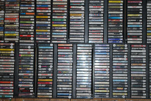 CLEARANCE! ALL CDs, VHS,  Audio Cassettes Tapes 50% OFF!