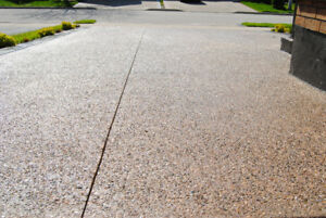 Cheap - Driveway Sealing - Exposed Aggregates/Stamped Concrete