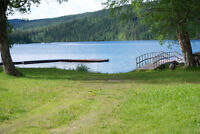 The Nicest Waterfront on Quesnel Lake
