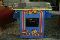 Ms. Pac-Man Multi-Arcade Cocktail Game Machine