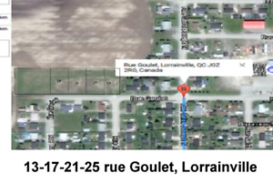 Terrains 13-21-25, Rue Goulet O, Lorrainville