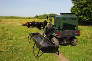 UTV 15 BU. Eze-Feeder for feeding pellets and supplements