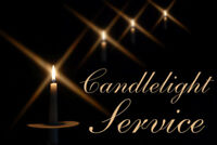 Christmas Candlelight Service - Come ans sing with us...