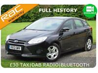 2013 Ford Focus 1.6TDCi 100 BHP Edge FULL HISTORY £20 TAX