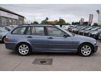 2002 BMW 3 SERIES 2.0 320D SE TOURING 5 DOOR ESTATE DIESEL BLUE MANUAL