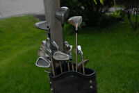 RT hand set of Altima Platinum irons , woods, TNT bag