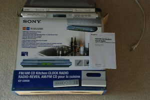 SONY Kitchen Clock Radio/CD player