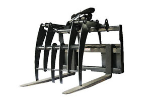 Jenkins HEAVY DUTY Pallet Forks Grapple Skidsteer Attachment Comox / Courtenay / Cumberland Comox Valley Area image 1
