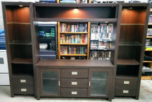4 Piece Entertainment Stand