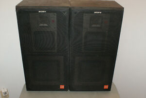 Sony 180 Watt 3-way speaker System