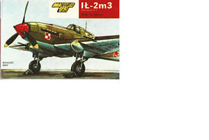 IL-2m3Model Aircraft Kit 1:72 Scale