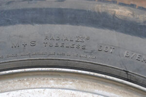 M+S Tires - very good condition!