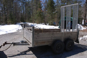 3500 lb Heavy Duty Utility Trailer