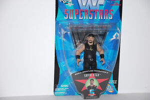 SAVIO VEGA WWF SUPERSTARS SERIES FIGURE MINT ON CARD
