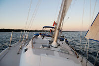 Sail off into the sunset with the gorgeous 36' Catalina Sailboat