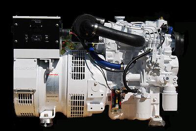 7 Kw Diesel Marine Generator Kubota Wheat Exchange Cooling