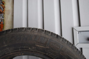 4 Used Michelin X Ice Snow Tires