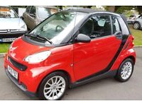 2009 SMART FORTWO PASSION MHD AUTOMATIC 1.0L PETROL CONVERTIBLE ++A/C++HEATED SEATS++ALLOY WHEELS+