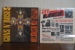2 GUNS N' ROSES LP'S BOTH IN EXCELLENT CONDITION.
