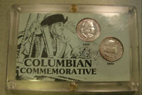 1892 & 1893 United States Columbian Commemorative Silver Coins