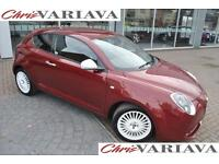 2015 Alfa Romeo Mito JTDM-2 JUNIOR ** 60+ MPG £0 ROAD TAX ** Diesel red Manual