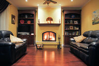 Energy efficient wood fireplaces in the tri-cities!