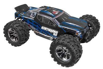 1/8 Redcat EARTHQUAKE 3.5 RC Nitro 4WD Truck 2.4ghz Remote Control Black/Blue