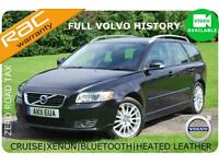 2011 Volvo V50 1.6D DRIVe SE Lux -FULL VOLVO HISTORY-FINANCE AVAILABLE