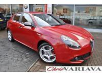 2016 Alfa Romeo Giulietta JTDM-2 SPECIALE TCT Diesel red Semi Auto