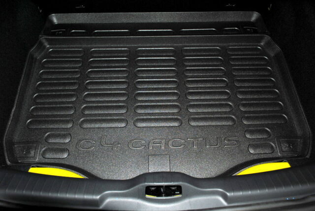 Citroen C4 Cactus Black Boot Protection Liner Foam Style New Genuine 1610921180