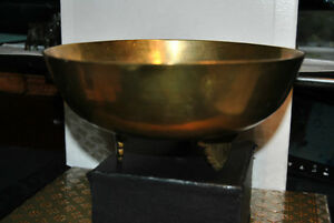 Rare Antique Chinese Bronze Metal Bowl