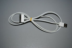 Original Apple 30-pin to USB Cable for iPod, iPad or iPhone