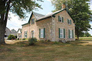 RESTORED STONE HOME ON 80 ACRES IN PERTH, ON West Island Greater Montréal image 1