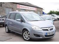 2008 (58) Vauxhall Zafira 1.9 CDTI Diesel Manual 5 Door MPV Silver