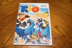 Nintendo wii games Just dance 3 and Rio