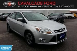 2014 Ford Focus Sedan SE with no reported accidents!!