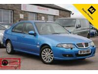 2004 (54) ROVER 45 1.6 CLUB SE 4 DOOR SALOON BLUE PETROL MANUAL