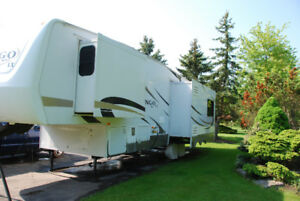 Home away from home.  32' Durango Fifth Wheel $35,000.
