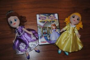 DVD de princesse Sofia avec peluches assorties