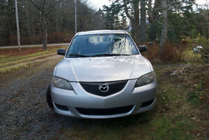 2004 Mazda 3 New MVI & Snow Tires $1950 OBO