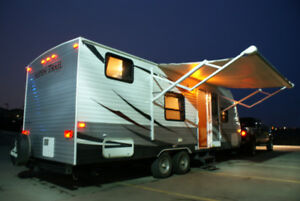 Camp in style with this beautiful 2012 Dutchmen trailer for rent