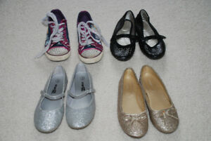 various girls shoes sizes 13-1.5