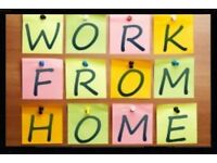 Work from home. Flexible hours. Great income. Start today