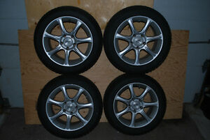 Dunlop run-flat Winter Tires and Rims for BMW