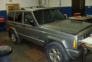 Doors, Rear Bumper and Icon Wheels for '00 Jeep Cherokee Classic
